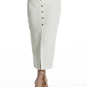 My Way Maxi Skirt in White
