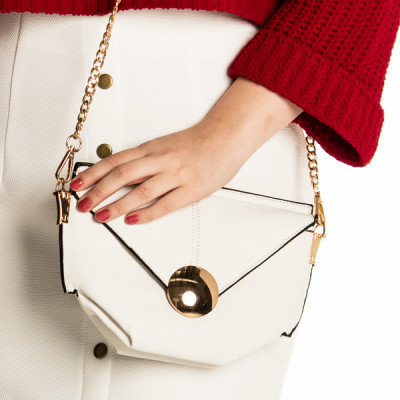 Full Moon Bag in White
