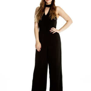 Take a Chance on Me Jumpsuit in Black