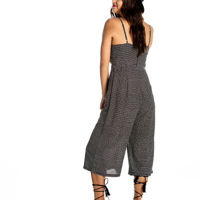 Fame & Fortune Jumpsuit in Black