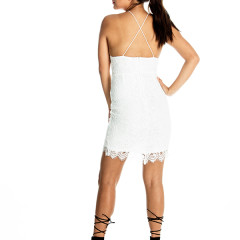 Double Dare Dress in White