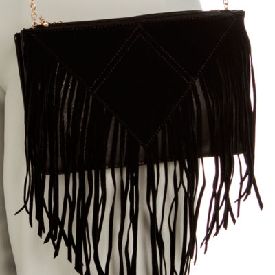 Trinity clutch in Black