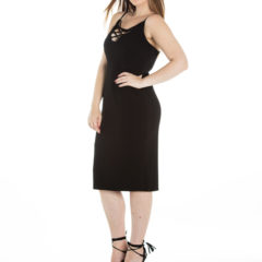 Heart's Desire Dress in Black