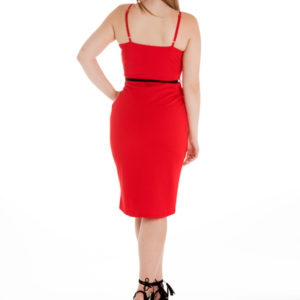 Confessions Dress in Red