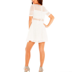 Good Deeds Dress in White