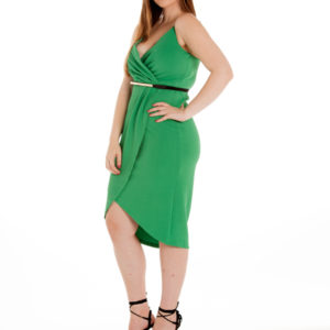 Confessions Dress in Emerald