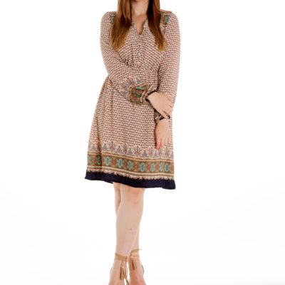 Stand By Me Dress in Beige