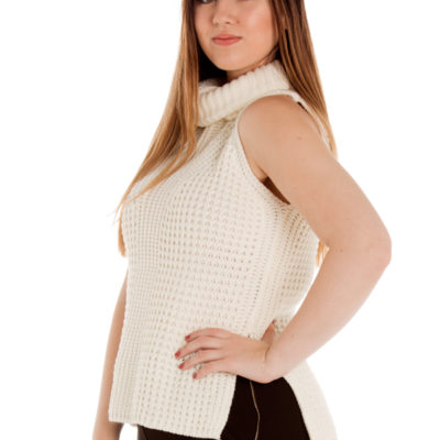 You Were Right Knit Top in Cream