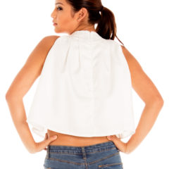 Good Karma Top in White