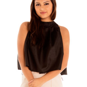 Good Karma Top in Black