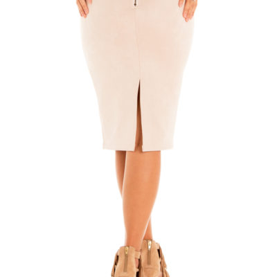 What If Skirt in Beige
