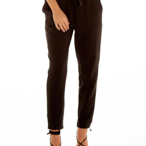 Always On Time Pants in Black