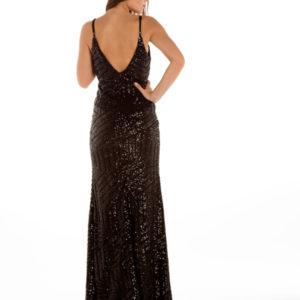 Midas Touch Dress in Black