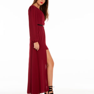 Day Dreamer Playsuit in Wine
