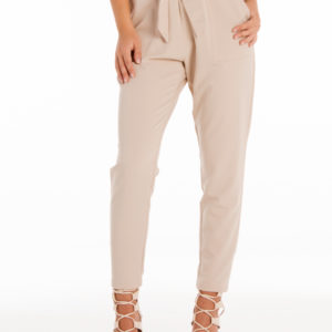 Always On Time Pants in Beige